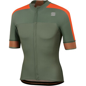 Sportful Bodyfit Pro 2.0 Classics Jersey Men Dry Green/Orange SDR